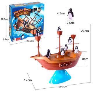 Équilibre Bateau Pirate et Pingouin