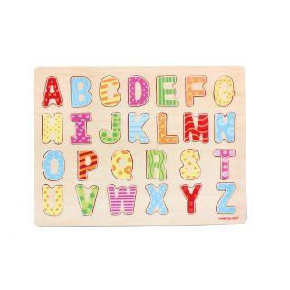 Capital Letter Puzzle en bois