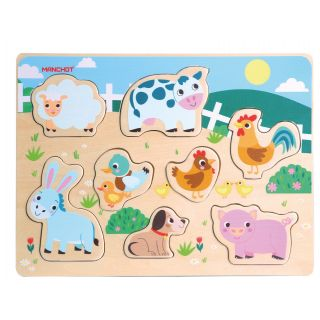 animaux de la ferme puzzle