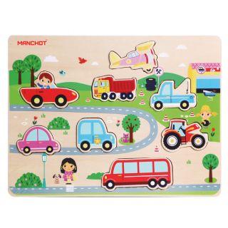 puzzle véhicule