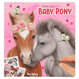 Album de création Poney Miss Melody