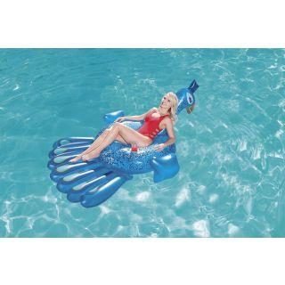 Bestway 41101 flotteur de plage et de piscine Bleu Vinyl Bouée à chevaucher