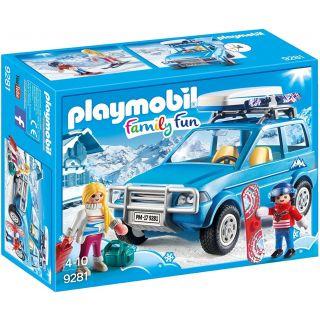 4x4 avec coffre de toit - 9281 - Playmobil