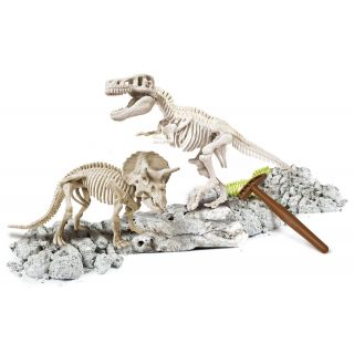 Archéo Ludic T-Rex & Tricératops - Clementoni