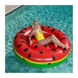 BESTWAY Giant Watermelon - Matelas gonflable de 188 cm de diamètre