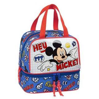 Sac à goûter double compartiment Mickey