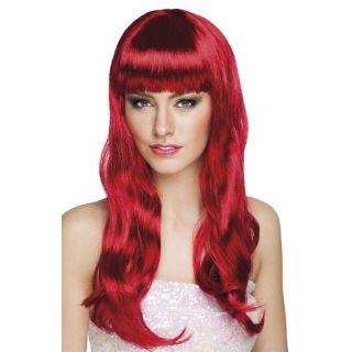 Perruque Chique Rouge Rubis