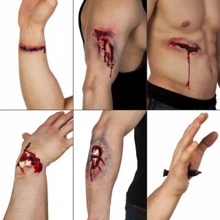 Cicatrice latex assortiment
