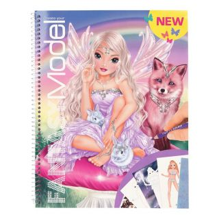 Album de coloriage Fantasy Model Top Model