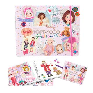 Album de coloriage Kids Fashion Top Model