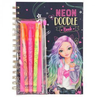 Album de coloriage & Set de crayons Top Model