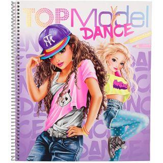 Album de coloriage Top Dance TM