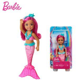 Assortiment de poupées sirènes Barbie Dreamtopia Chelsea