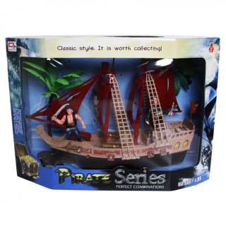 Bateau de pirate avec sons et lumières