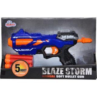 Blaze Storm 5 Fléchettes en Mousse