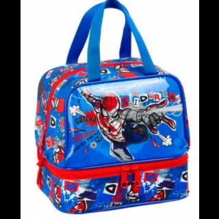 Sac à goûter double compartiment Spiderman
