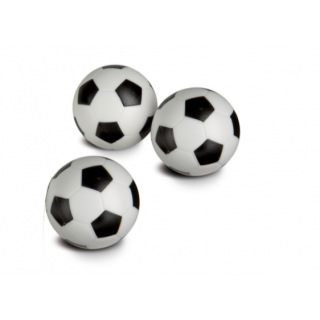 Smoby - 3 balles pour table Babyfoot 34mm