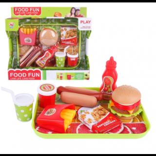 Hamburger Fast Food Playset