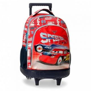 Sac à dos à roulettes Cars Speed