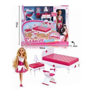 Chambre à Coucher avec Meubles/poupée
