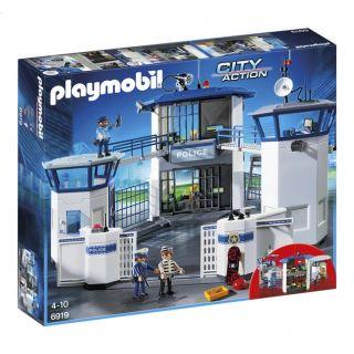 Commissariat de police avec prison - 6919 - Playmobil