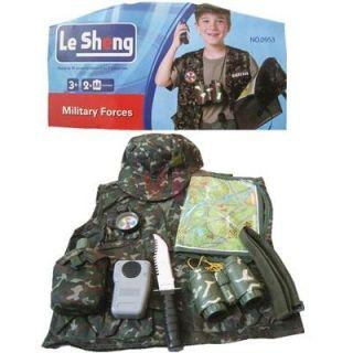 Déguisement Militaire Avec Accessoire