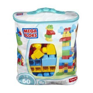 Mega Bloks First Builders Big Building Bag, 60-Piece