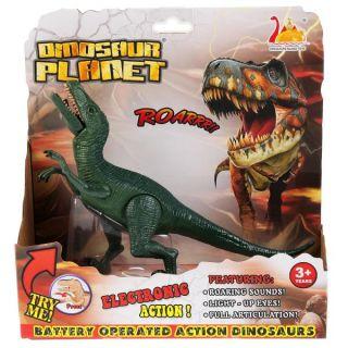 Dinosaure vélociraptor électrique avec Son et Lumière