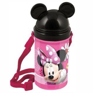 Disney Minnie Mouse - Flip Top Gourde Bouteille 500 ml