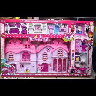 Ensemble de jouets de maison de poupée Dream Room