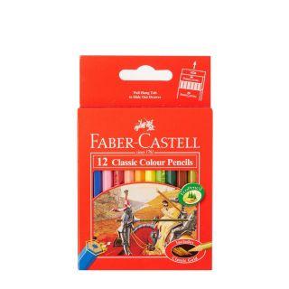 12 Crayon couleur classic - Faber castell