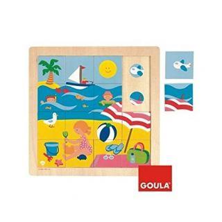 """Puzzle """"été"""" -  Goula"""