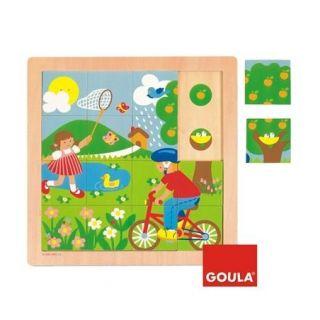 Puzzle Printemps - Goula
