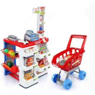 Supermarché Avec Chariot 48pcs