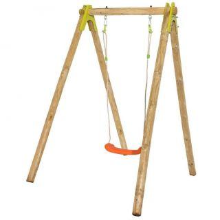 Balancoire bois 1m90. Le portique en bois SALLY de Trigano Jardin