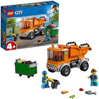 Le camion de poubelle City