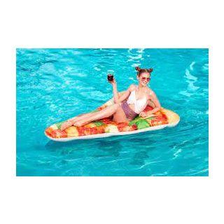 Matelas d'air pizza 180x130cm