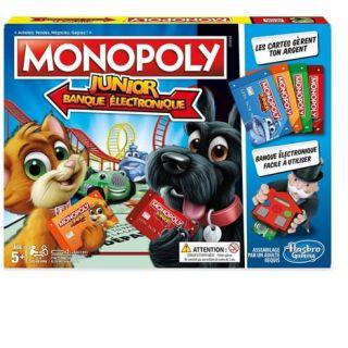 Monopoly - Junior Electronique - Hasbro
