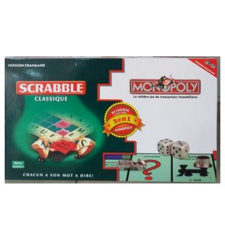 Monopoly et Scrabble Pack 2 en 1