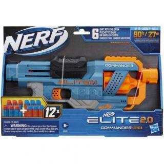 NERF ELITE 2.0 COMMANDER RC 6-HASBRO