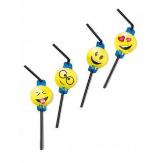 Paille Médaillon -  Emoji