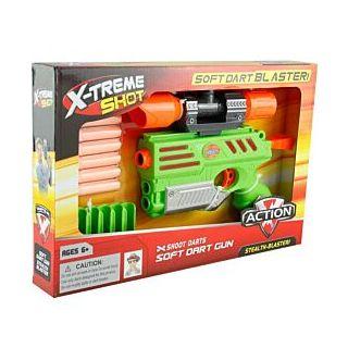 Pistolet avec accessoires X-Treme Shot