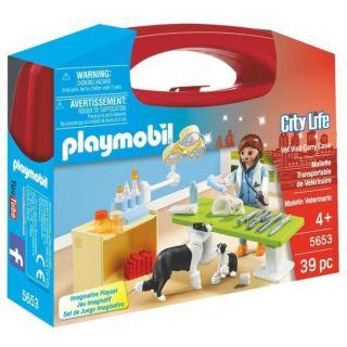 City Life - Valisette Vétérinaire - 5653 - Playmobil