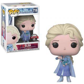 POP Funko Disney Frozen II 716 Elsa with Salamander