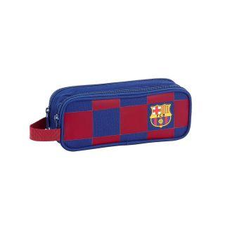 Trousse à crayons double FC Barcelona