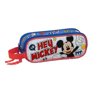 Trousse à crayons double MICKEY MOUSE