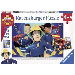 Puzzle - Sam t'aide dans le besoin - Sam le pompier - Ravensburger