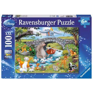 Puzzle 100 p XXL - La famille d'Animal  Friends / Disney 10947 Ravensburger