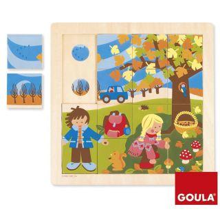 Puzzle Automne - Goula