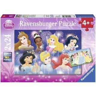 Ravensburger Disney Princesses  Puzzle 2x24 pieces
